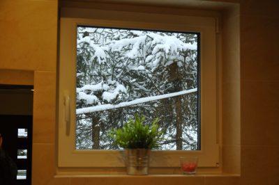 Apartament w zimie wisła